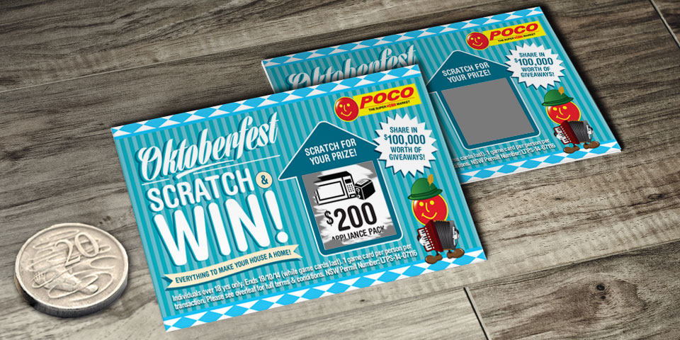 Scratch cards games guide - Win big money on scratchcards